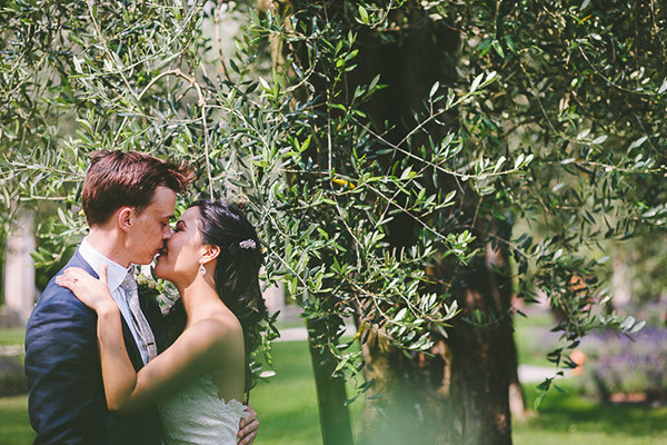 Elopement photographer on lake garda