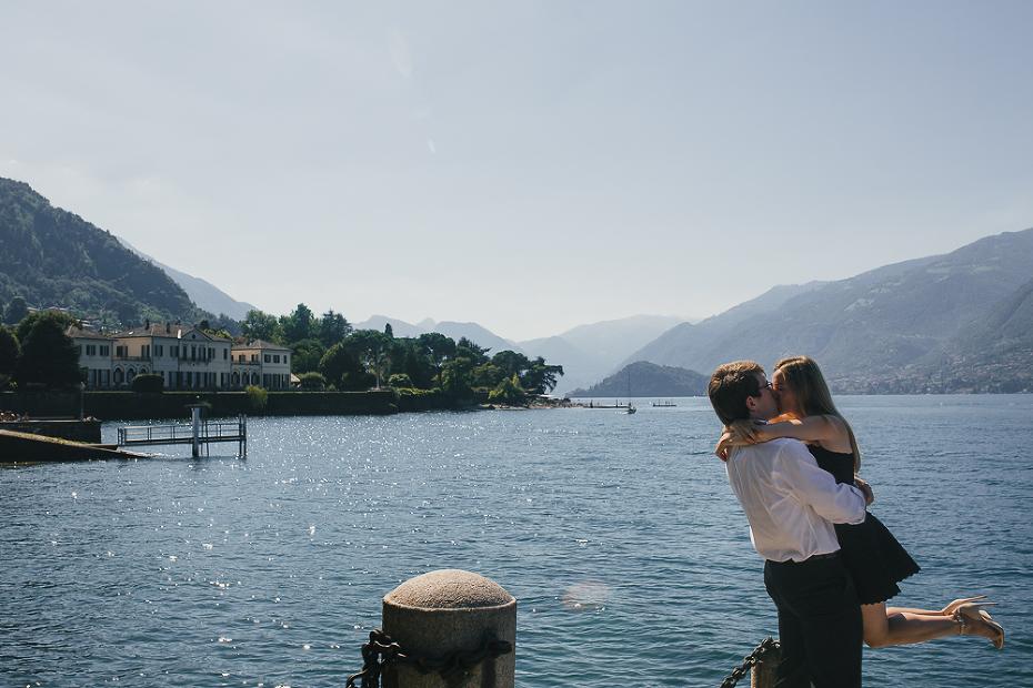Couple photo session Lake Como