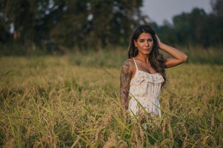 Portrait photography session