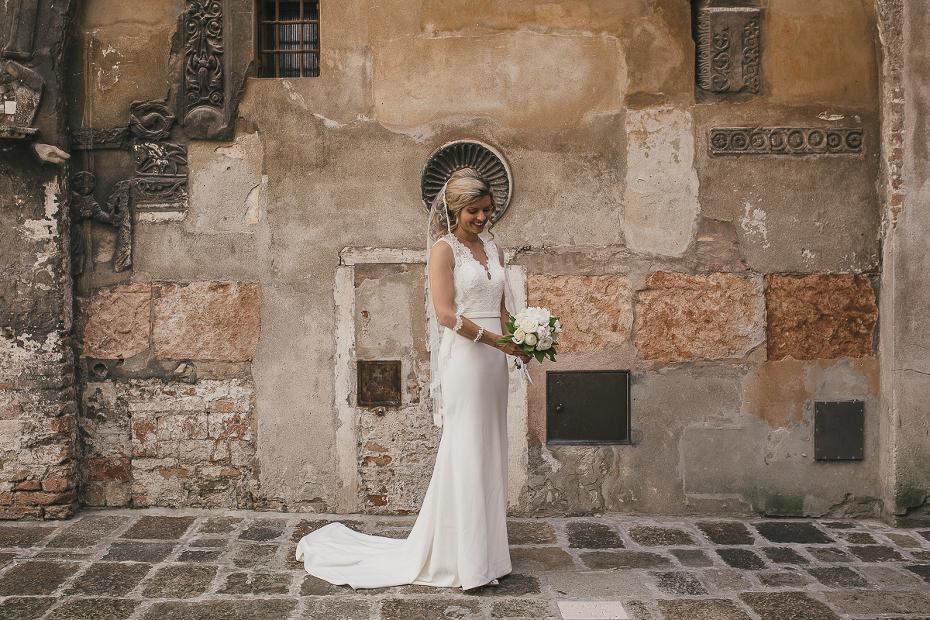 Intimate wedding in venice