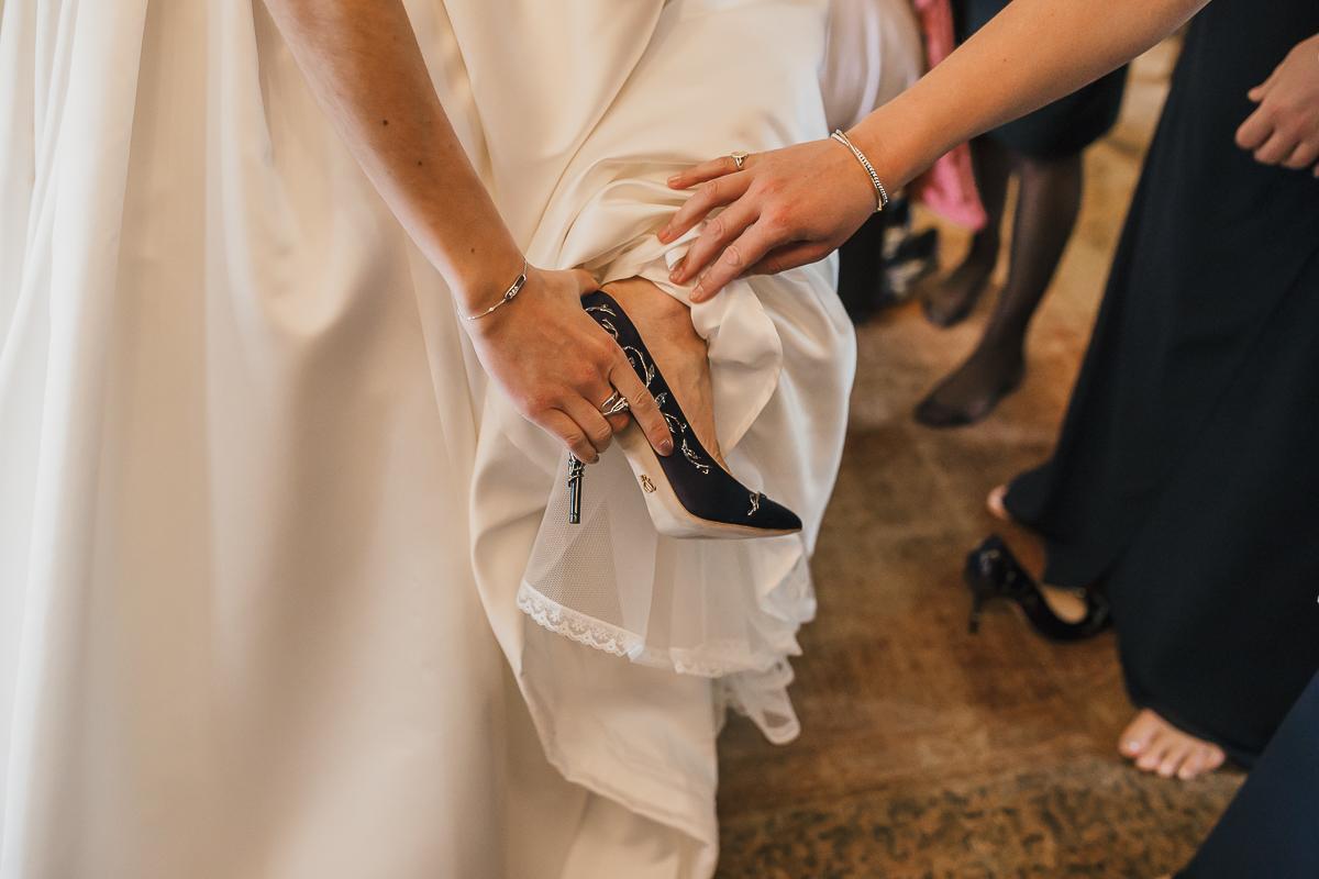 wedding in scotland - Borthwick Castle