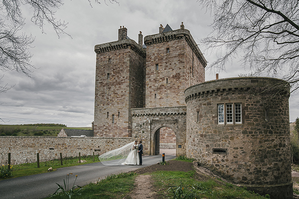 wedding in scotland - Borthwick Castle