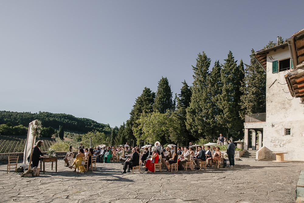 wedding photographer tuscany italy ceremony