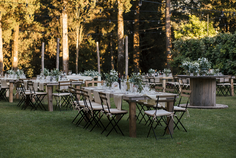 wedding photographer tuscany italy table setting
