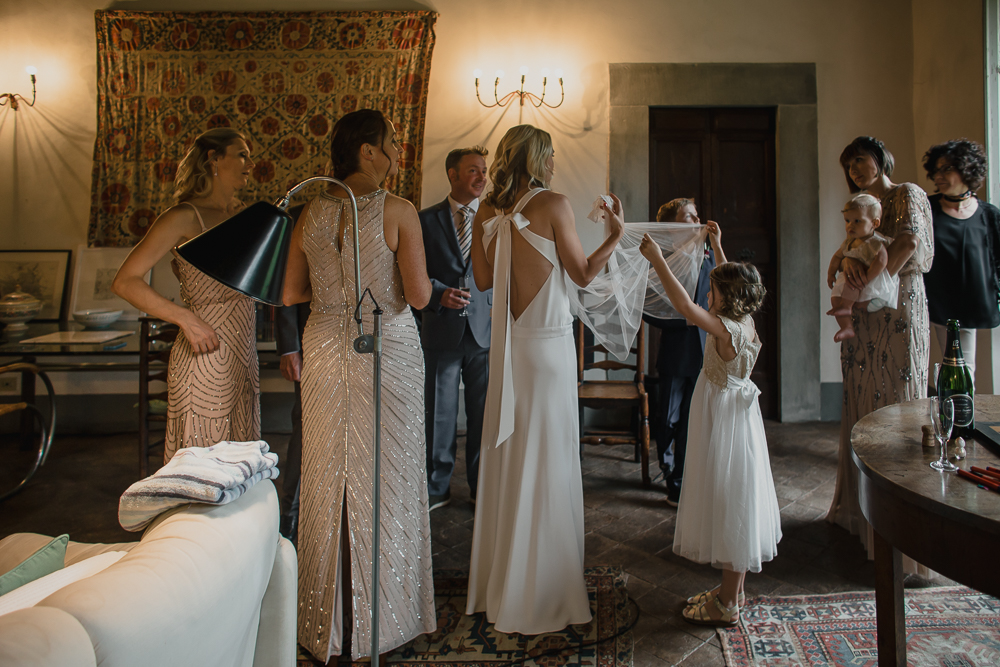 Wedding photographer Villa Catureglio