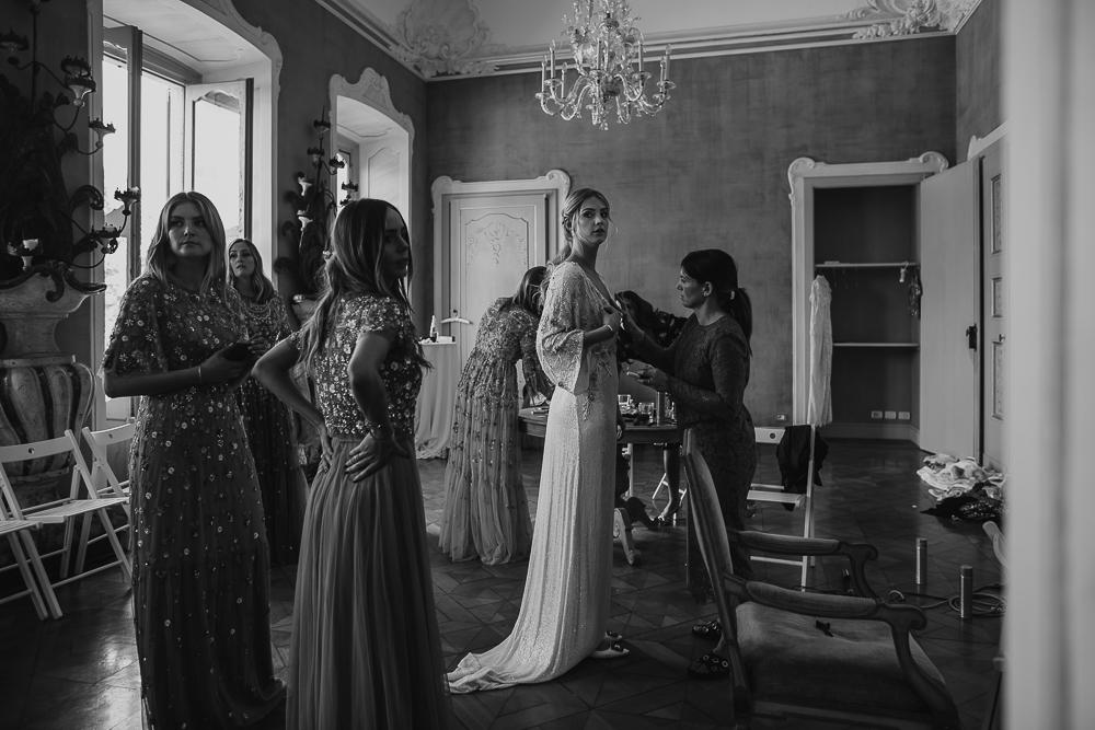 Villa Subaglio Merate bride